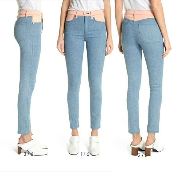 rag & bone Denim - NWT rag & bone Phila Skinny Jeans Nelly Prairie